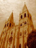 San- Sebastiankirche stockbild