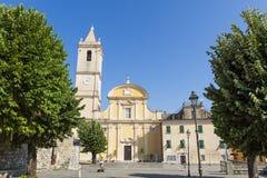 SAN Sebastiano & εκκλησία της Σάντα Μαρία Assunta Στοκ Εικόνα