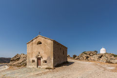 San Sebastiano Chapel near Palasca in Corsica Royalty Free Stock Image