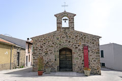 San sebastiano chiurch in Oschiri Stock Images