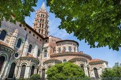 San Sernin Basilica Immagine Stock Libera da Diritti