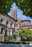 San Sernin Basilica Fotografia Stock Libera da Diritti