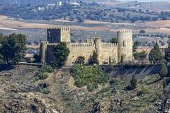 San Servando Castle in Toledo, Spanje Royalty-vrije Stock Afbeeldingen