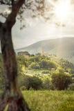 San Severino in Italy Marche Stock Photo