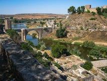 San Silvestre castle, Toledo, Castilla la Mancha, Spain Royalty Free Stock Image