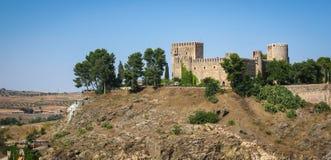 San Silvestre castle, Toledo, Castilla la Mancha, Spain Stock Images