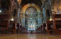 San Silvestro Church in rome, Italy royalty free stock photos