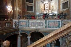 San Silvestro Church in Rome, Italy royalty free stock photo