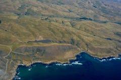 San Simeon aerial photo Royalty Free Stock Image