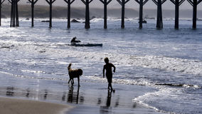 San Simeon Beach Photos stock