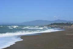 San Simeon Coastline em março Imagem de Stock Royalty Free