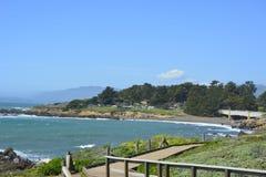 San Simeon Coastline em março Imagens de Stock Royalty Free