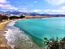 San Simeon Cove California Lizenzfreie Stockbilder