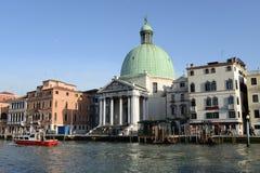 San Simeon Piccolo Church a Venezia, Italia fotografia stock