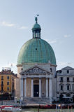 San Simeon Piccolo church, Venice, Italy Stock Photography
