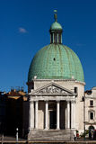 San Simeon Piccolo church, Venice, Italy. The San Simeon Piccolo church, Venice - Venezia, Italy - Italia Stock Image