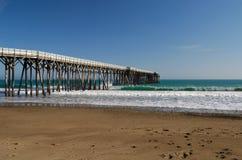 San Simeon Pier stock photography