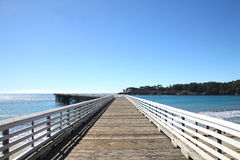 Free San Simeon Pier Royalty Free Stock Photo - 27611625