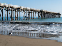 San Simeon Pier image stock