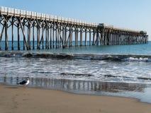 San Simeon Pier immagine stock