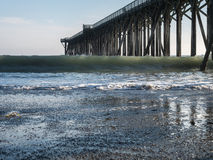 San Simeon Pier Royalty Free Stock Images