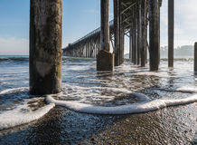 San Simeon Pier Royalty Free Stock Photo