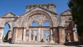 San Simeon. Syria Royalty Free Stock Image
