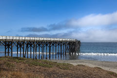 San Simoen pier in southern California Royalty Free Stock Photos