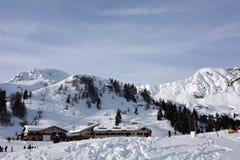 San Simone Ski Resort Stockbild