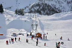 San Simone Ski Resort Royalty Free Stock Images