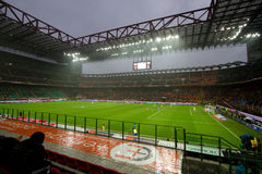 San Siro. A shot of San Siro stadium in Milan Italy royalty free stock image