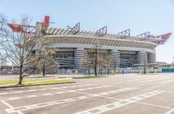San Siro arena, Milan Arkivbilder