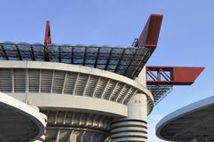 San siro frame #1, milan Stock Photos