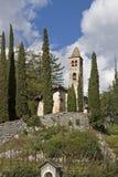 San Siro i Val Cavedine Arkivbild