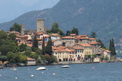 San Siro Lake Como. Village of San Siro Lake Como royalty free stock images