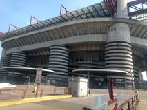 San siro. Milan royalty free stock photos