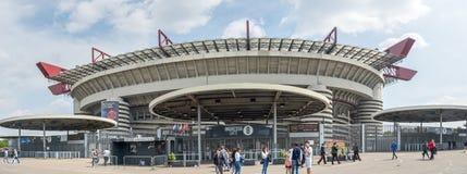 San Siro Stadion in Mailand, Italien lizenzfreies stockfoto