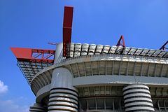 San Siro Stadium. In Milan, Italy royalty free stock photos