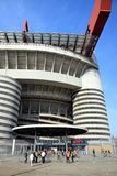 San Siro Stadium Gate Royalty Free Stock Photography