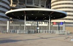 San Siro Stadium Gate Stock Photos