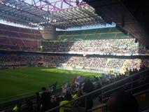 San Siro Stadium i Milan Fotografering för Bildbyråer