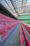San Siro Stadium. At San Siro stadium. Milan, Italy royalty free stock photos
