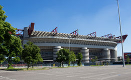 San siro stadium in Milan Stock Images