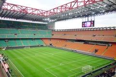 San Siro Stadium. A view of the San Siro stadium after an AC Milan game Stock Photos