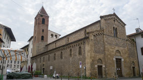 San Sisto Church. 11th century. this is one of the oldest churches in Pisa Royalty Free Stock Image