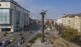San Sophia, Bulgaria, il 21 ottobre 2018 fotografie stock