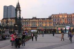 San Sophia Cathedral Plaza Fotografie Stock Libere da Diritti