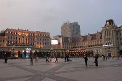 San Sophia Cathedral Plaza Fotografia Stock