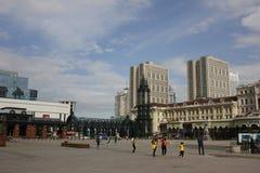San Sophia Cathedral Plaza Immagine Stock