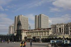 San Sophia Cathedral Plaza Immagini Stock Libere da Diritti